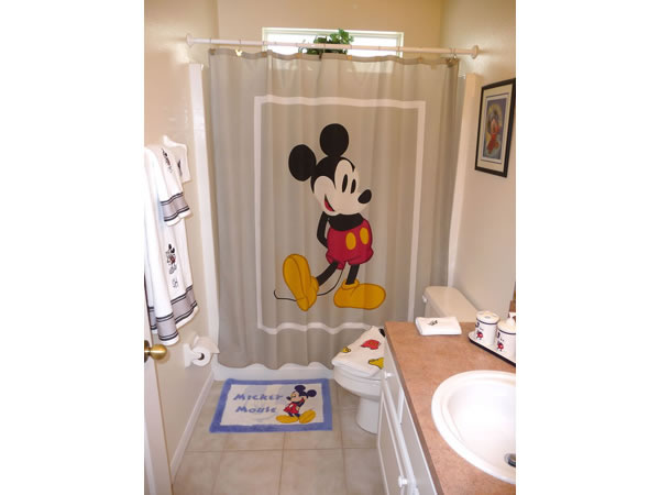 Florida Villa Mickey Bathroom