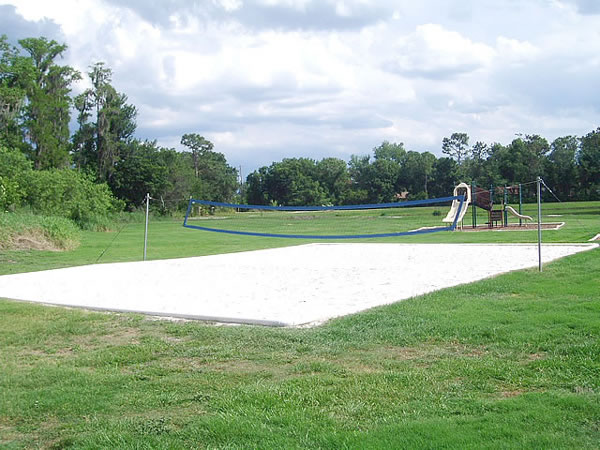 Florida Villa Volleyball Court