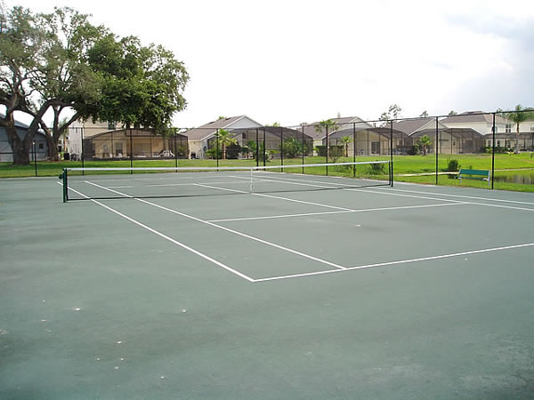 Florida Villa Tennis Court